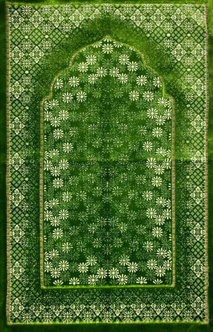 Luxury Plush Prayer Rug - Irshad - Prayer Rugs - Siraj