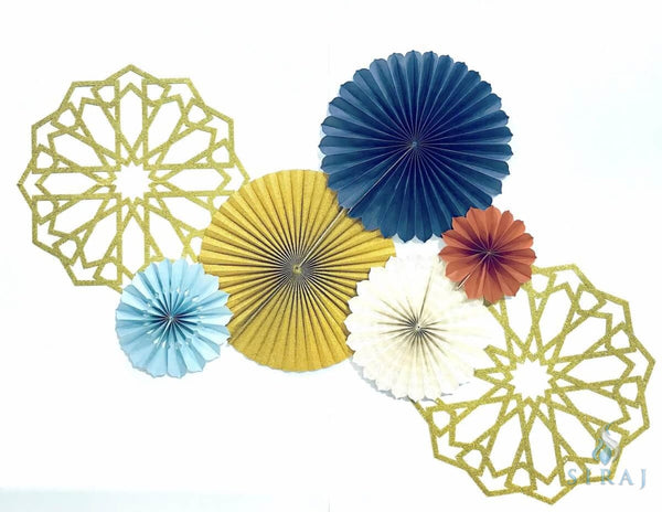 Marrakesh Fan Decor Set - Decorations - Eid Creations