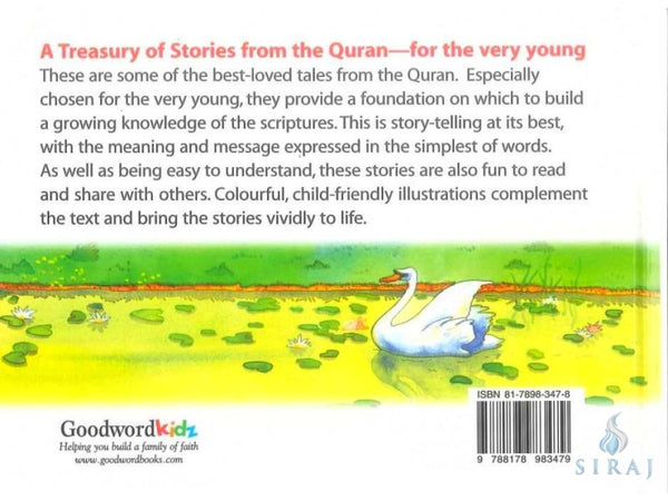 More Quran Stories For Kids (Hardcover) - Childrens Books - Goodword Books