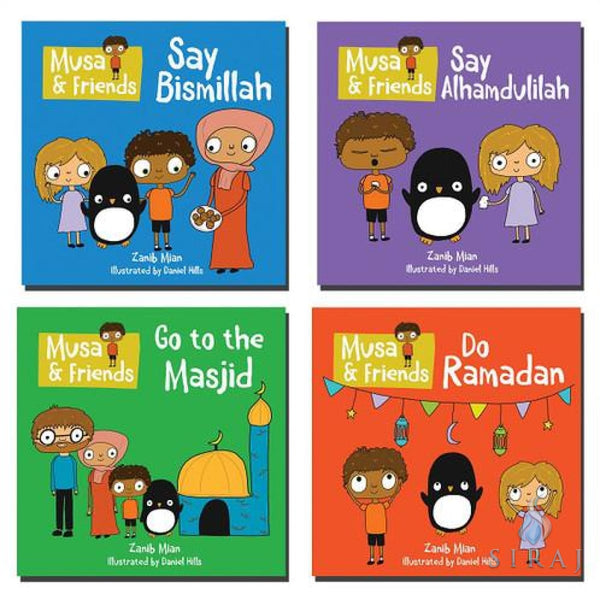 Musa & Friends Say Bismillah - Childrens Books - Zanib Mian