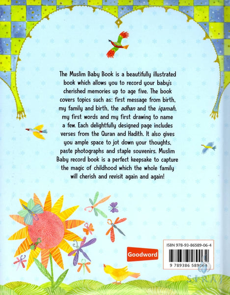Muslim Baby Book For Boys - Childrens Books - Goodword Books