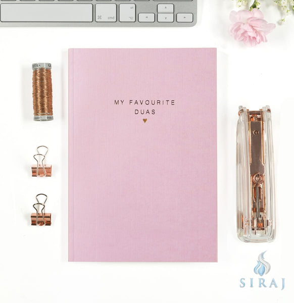 My Favorite Dua's Luxe Notebook - Notebooks - Islamic Moments