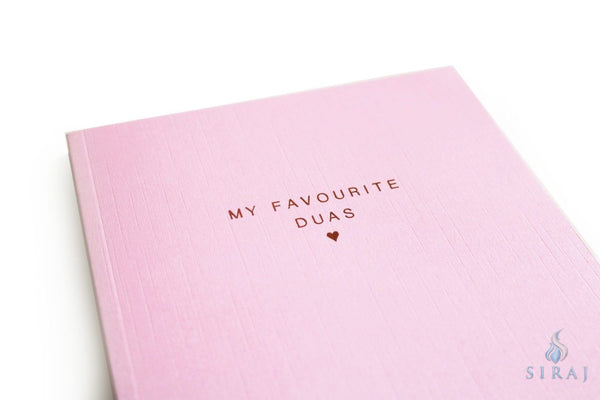 My Favorite Duas Luxe Notebook - Notebooks - Islamic Moments
