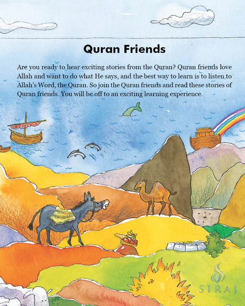 My Quran Friends Storybook (Hardcover) - Childrens Books - Goodword Books