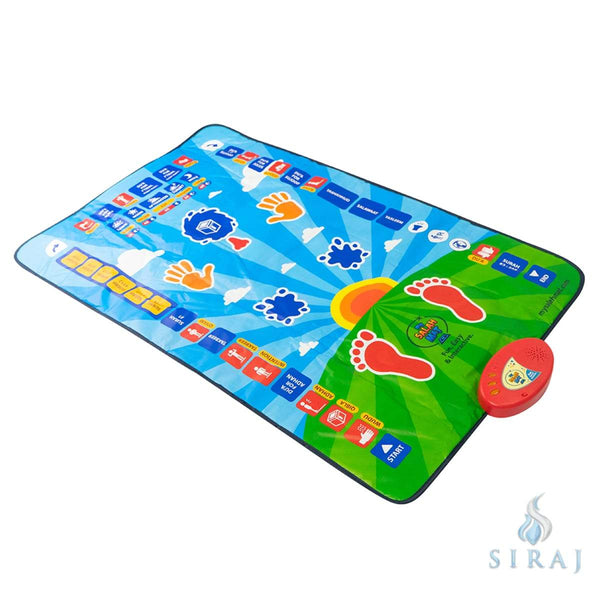 My Salah Mat - Educational Interactive Prayer Mat - Prayer Rugs - My Salah Mat