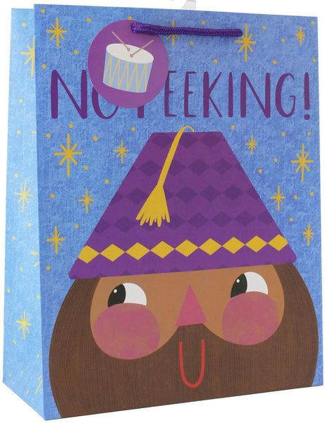 No Peeking Gift Bag Large - Gift Bags - Hello Holy Days