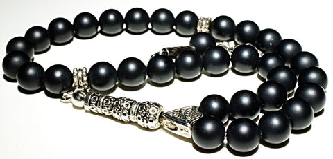Onyx Tesbih - Prayer Beads - Siraj