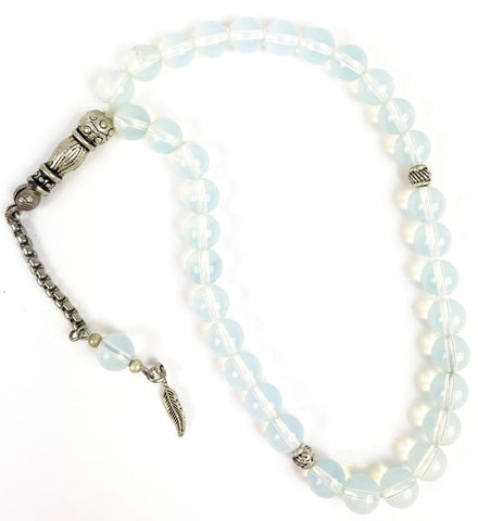 Opal Stone Tesbih - Prayer Beads - Siraj