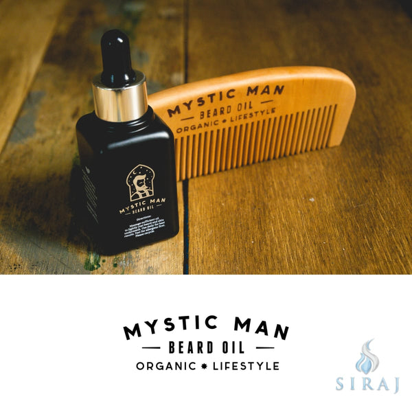 Organic Beard Oil - Mens Personal Care - Mystic Man