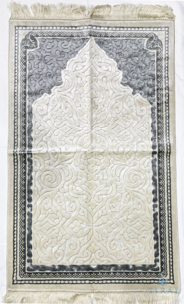 Plush Velvet Prayer Rug - Sina Mihrab - Prayer Rugs - Siraj