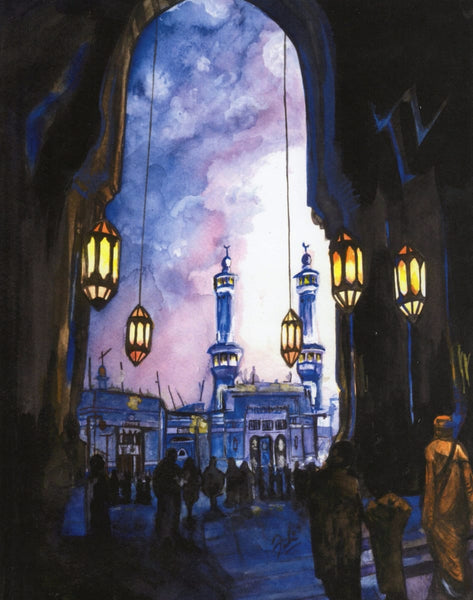 Ramadan Mosque Print - Art Prints - The Craft Souk