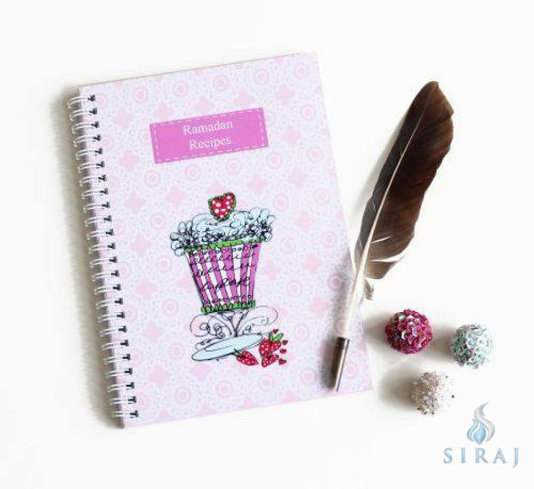 Ramadan Recipes Notebook - Notebooks - Islamic Moments