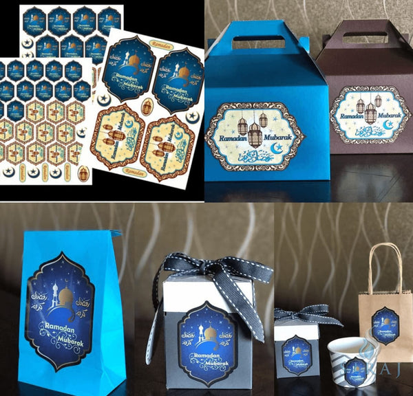 Ramadan Stickers Set - Stickers - Eidway