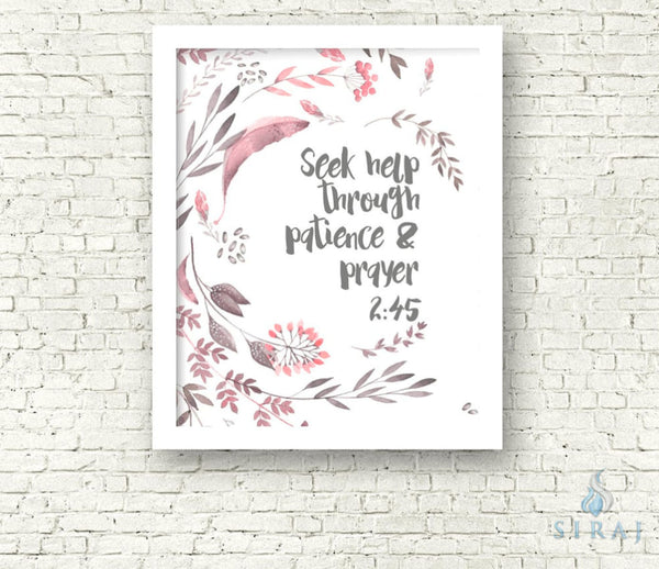 Seek Help Print - Art Prints - The Craft Souk