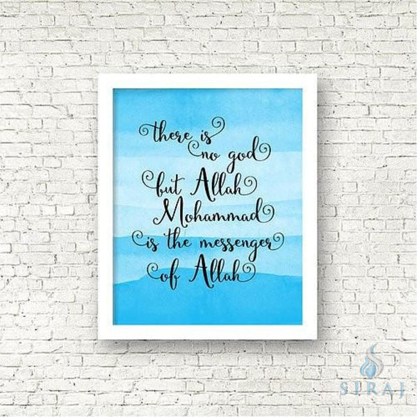 Shahada Print - Art Prints - The Craft Souk