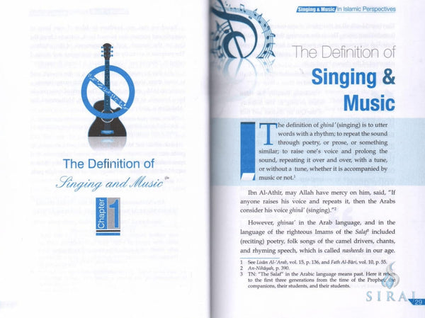 Singing & Music In Islamic Perspective - Islamic Books - Dar-us-Salam Publishers