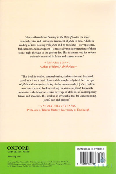 Striving in the Path of God: Jihad and Martyrdom in Islamic Thought - Islamic Books - Oxford University Press