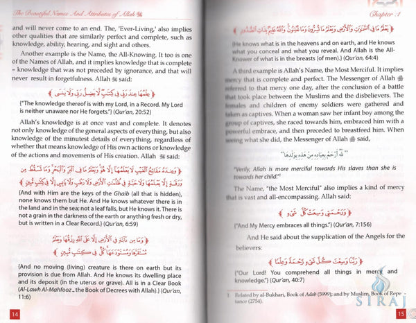 The Beautiful Names And Attributes Of Allah: Important Principles To Remember - Islamic Books - Dar-us-Salam Publishers