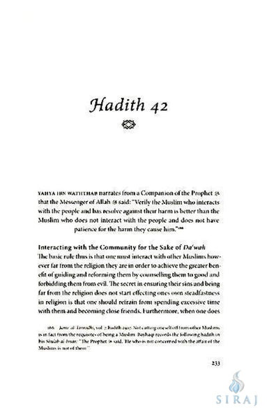 The Fiqh of Dawah: A Commentary On 40 Hadiths - Islamic Books - As-Suffa Institute
