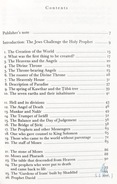 The Forty Questions: Prophet Muhammads Response To The Jews Of Medina - Islamic Books - Spohr Publishers