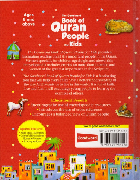 The Goodword Book Of Quran People For Kids - Hardcover - Children's Books - Goodword Books