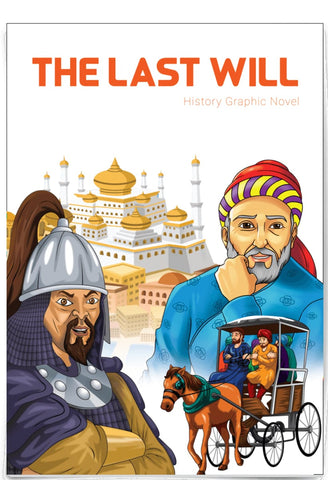 The Last Will - History Graphic Novel - Childrens Books - Adab Kids