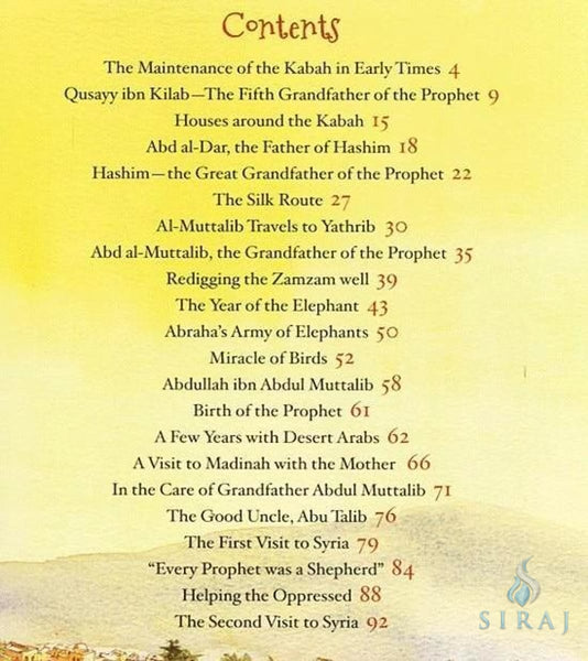 The Prophet Muhammad Storybook 1 (Hardcover) - Childrens Books - Goodword Books