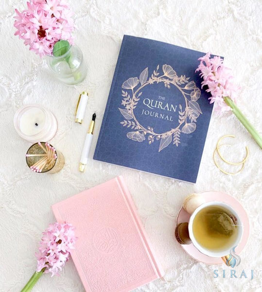 The Quran Journal: 365 Verses To Learn Reflect Upon and Apply - Journal - Umeda Islamova