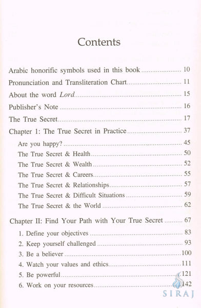 The True Secret - Islamic Books - IIPH