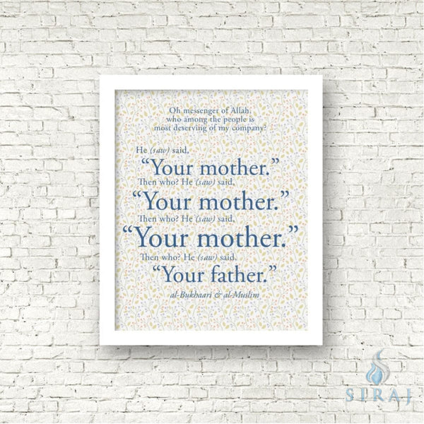 Your Mother Art Print - Art Prints - The Craft Souk