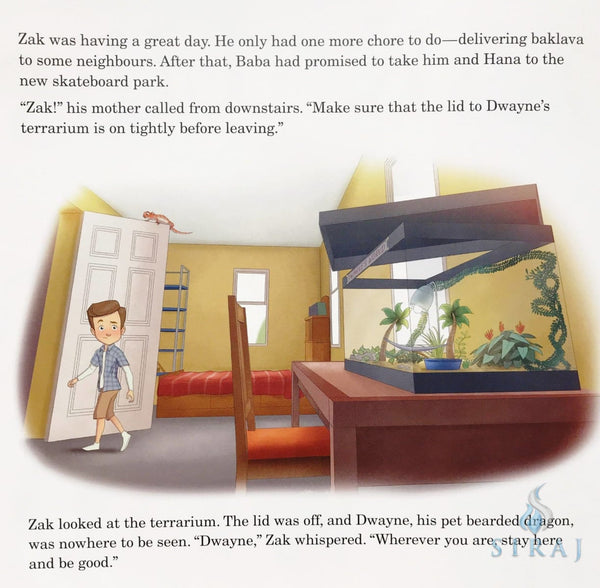 Zak and His Little Lies - Childrens Books - The Islamic Foundation