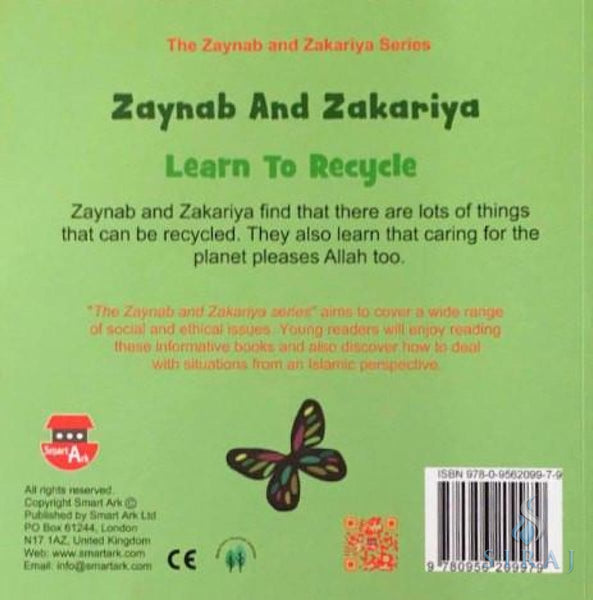Zaynab And Zakariya Learn To Recycle - Childrens Books - Smart Ark