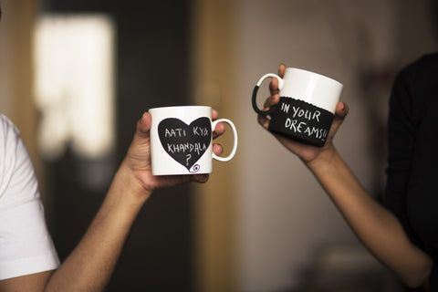 Coffee Conversation Mugs