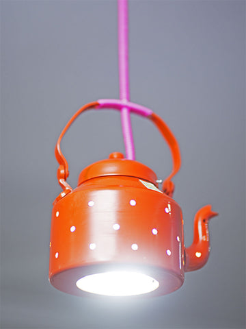 Kettle Lamp - Orange