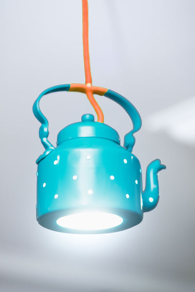 Kettle Lamp - Aquamarine