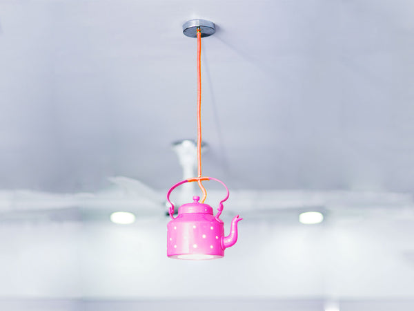 Kettle Lamp - Hot Pink
