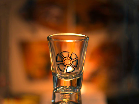 Iron Man Shot Glass