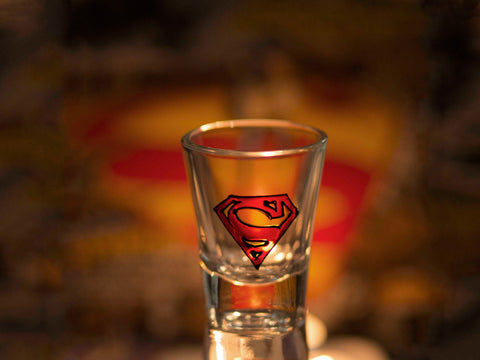 Superman Shot Glass