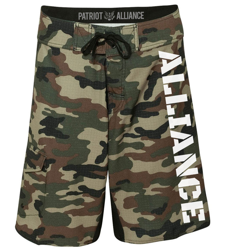 Alliance Board Shorts, Camo
