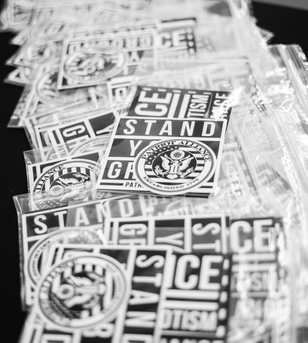 Alliance Sticker Pack - 5 Stickers