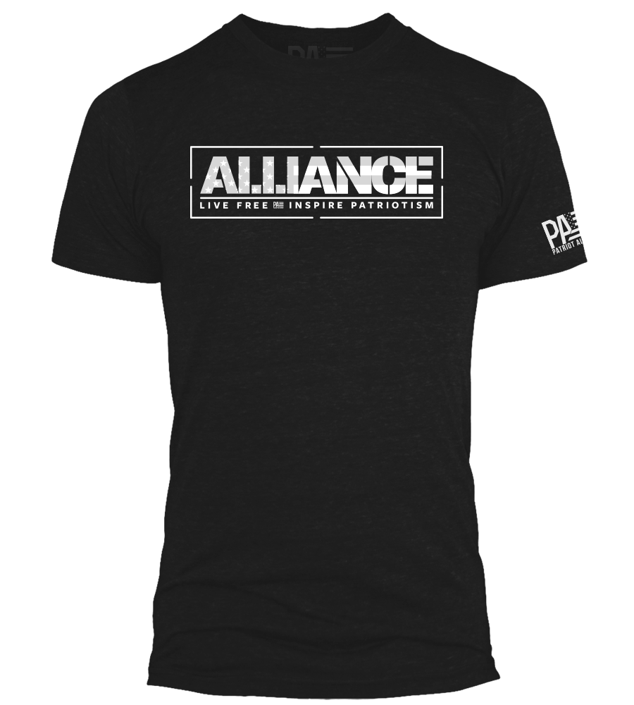 Alliance - Live Free, Black