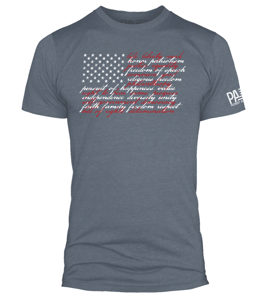 American Values, Navy Heather