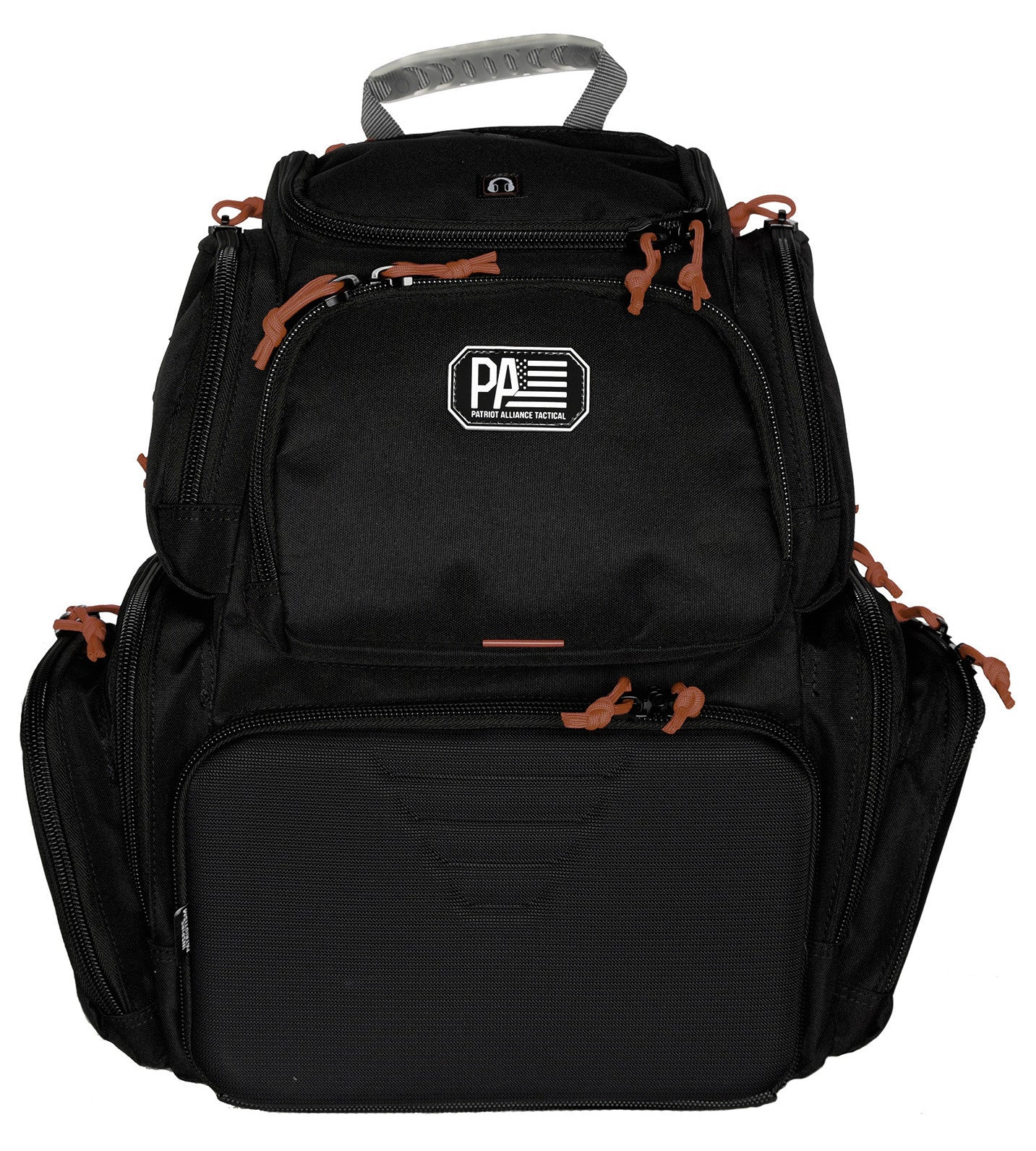 Handgunner Range Backpack, Black