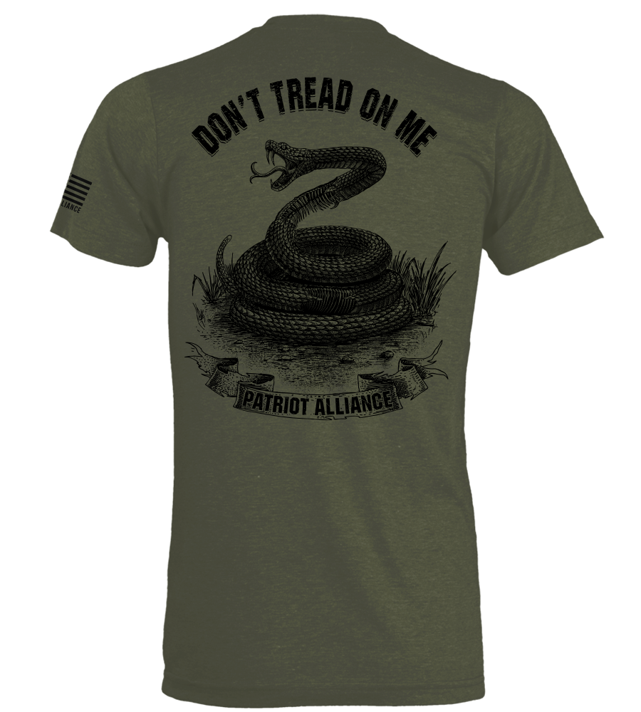 Don't Tread On Me, Military Green