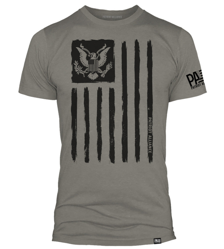 Flag & Eagle, Stone Grey