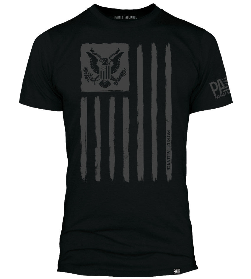 Flag & Eagle, Black