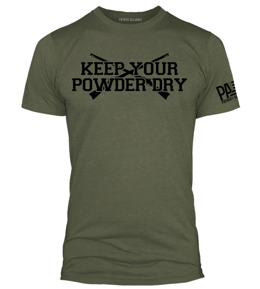 Keep Your Powder Dry, Military Green