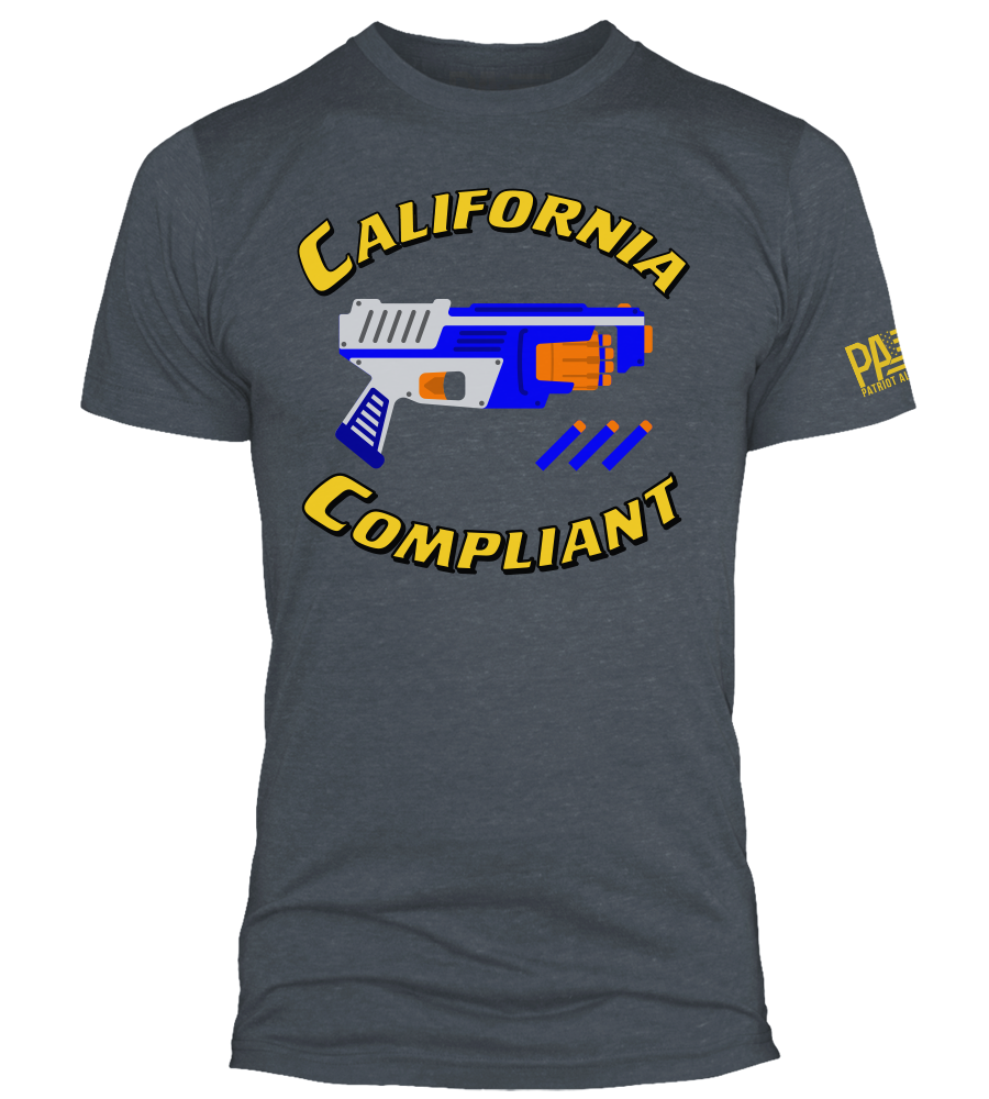California Compliant, Navy Heather