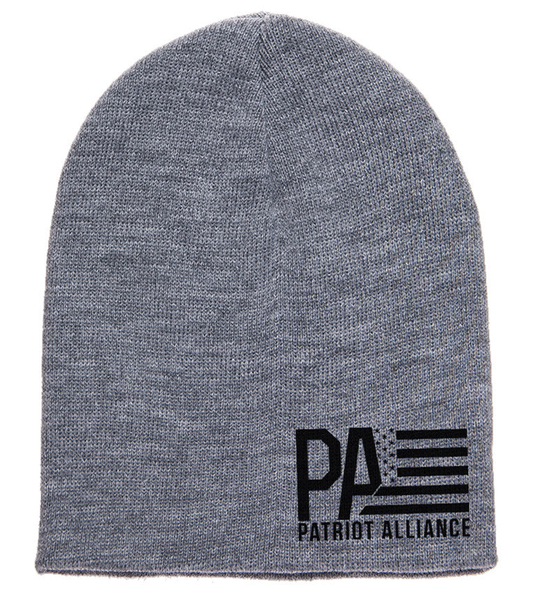 PA Logo Beanie, Heather Grey