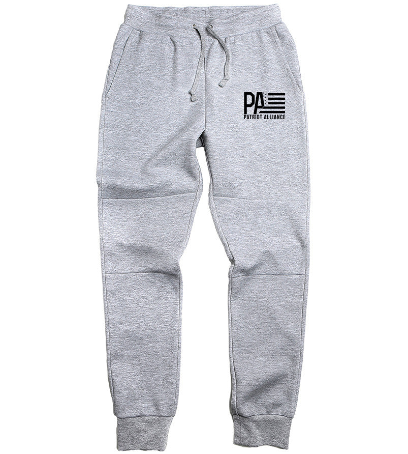 PA Men's Joggers, Heather Grey